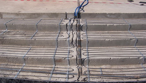 Кабель прогрева бетона пнсв