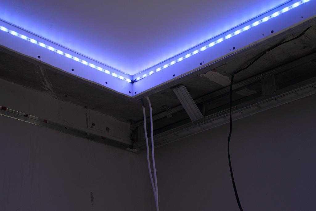 Светодиодная лента своими руками в потолок