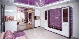 Шкаф купе – прекрасное решение для гостиной 5