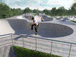 Деревянные скейт-парки – идеальные площадки для катания