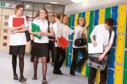 School lockers in use school 973x649