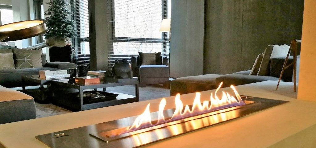 fireplace for apartment
